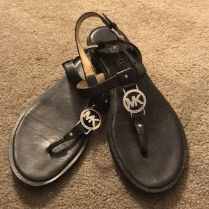 Micheal Kohrs Black Sandals